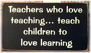 Teachers who love