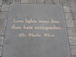 Love lights fires